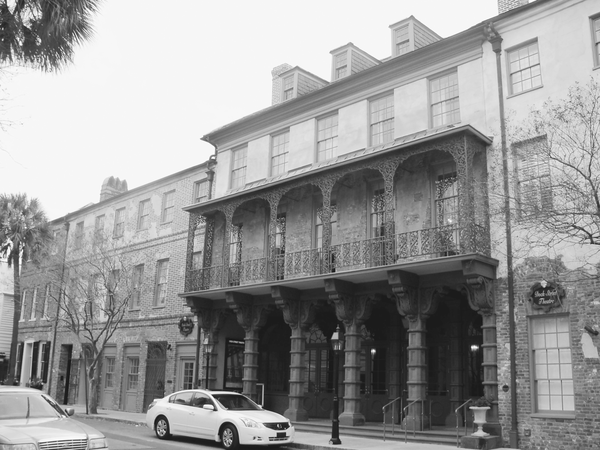 The Dock Street Theatre in Charleston, South Carolina, which is currently still in operation.