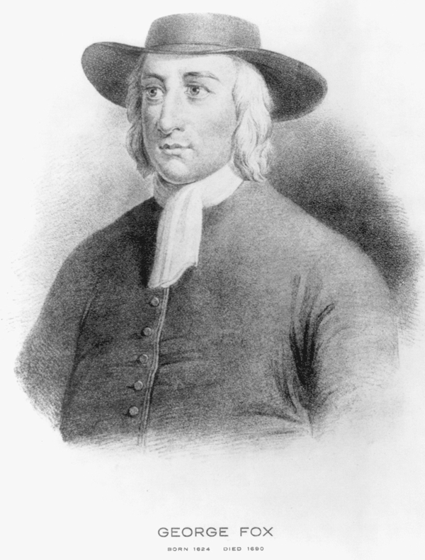 George Fox, founder and leader of the Quaker faith, was vehemently against the theatre during the 18th century.
