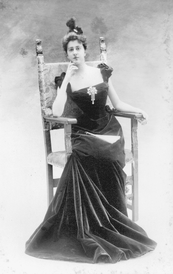 Edith Stuyvesant Dresser in 1898.