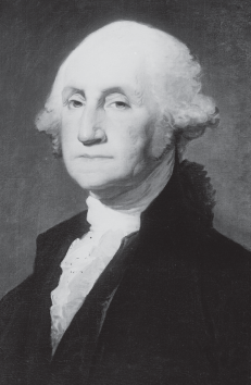 The Gilbert Stuart portrait of George Washington.