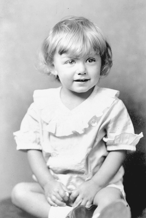 William Amherst Vanderbilt Cecil in 1930, at approximately age 2.