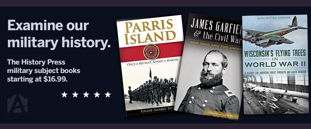 View The History Press military books.