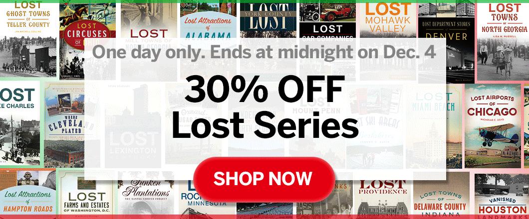 Arcadia Publishing - 30% Off Sale