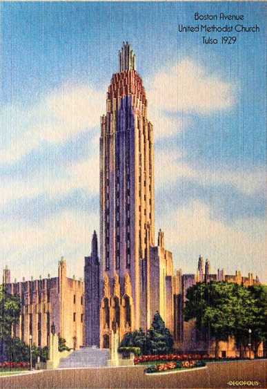Reprinted from Art Deco Tulsa by Suzanne Fitzgerald Wallis courtesy of the Wallis collection (The History Press, 2018).