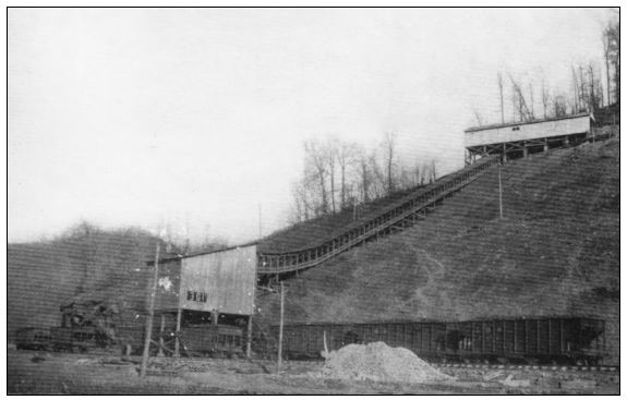 Coal Tipple in Letcher County