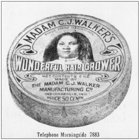 Madam C.J. Walker's Wonderful Hair Grower