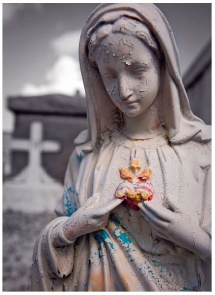 Mary Statue, St. Louis Cemetery, New Orleans