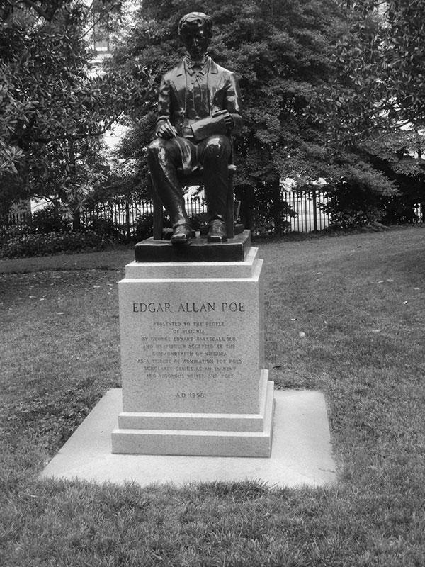 Young Edgar Allan Poe
