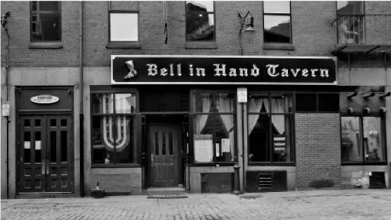 The Bell in Hand Tavern dates back to 1795. Reprinted from Boston Beer: A History of Brewing in the Hub by Norman Miller courtesy of Sara Withee (The History Press, 2014).
