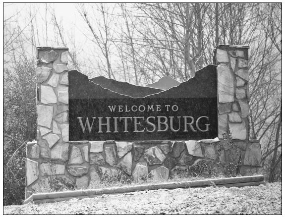 Whitesburg, KY Welcome Sign