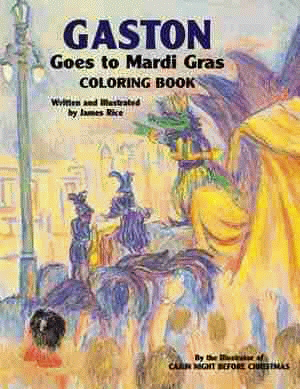 Gaston® Goes to Mardi Gras Coloring Book
