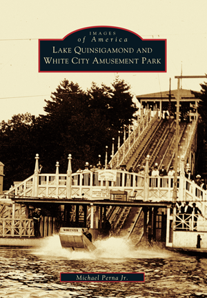 Lake Quinsigamond And White City Amusement Park By Michael