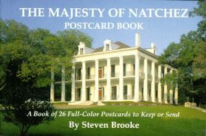 The Majesty of Natchez Postcard Book
