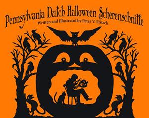 Pennsylvania Dutch Halloween Scherenschnitte