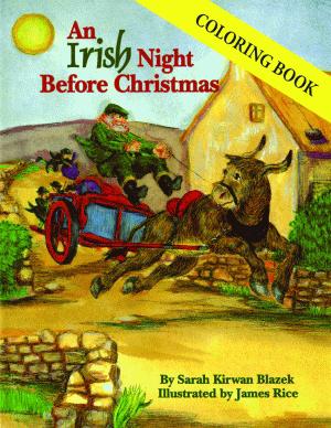 Irish Night Before Christmas Coloring Book, An