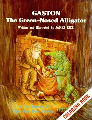 Gaston® the Green-Nosed Alligator Colori