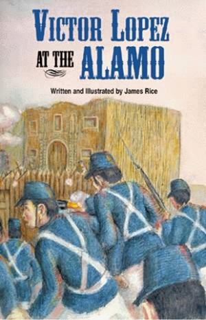 Victor Lopez at The Alamo