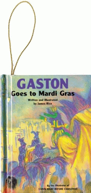 Gaston® Goes to Mardi Gras Ornament