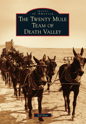 The Twenty Mule Team of Death Valley