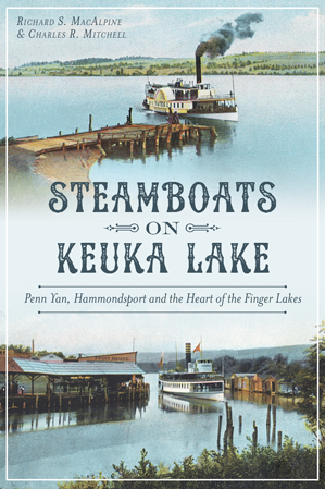 Steamboats on Keuka Lake