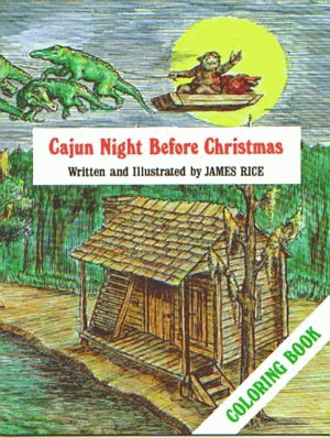 Cajun Night Before Christmas® Coloring B