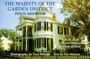 The Majesty of the Garden District Postcard Book