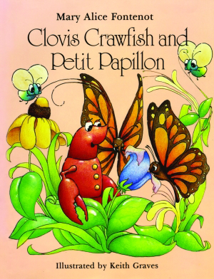 Clovis Crawfish and Petit Papillon